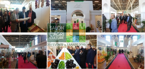 Déroulement de la participation algérienne au Salon SIA-Paris 2019 en France