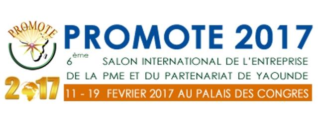 دعوة لحضور الصالون الدولي السادس للشركات و المؤسسات الصغيرة و المتوسطة و الشراكة بروموت ، بياوندي -